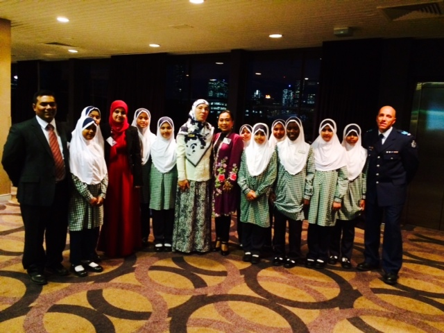Nasheed group perfoms at multi-faith dinner