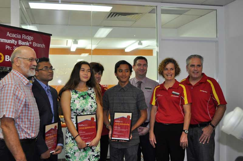 2015 Bendigo Bank Community Scholarship winner 2
