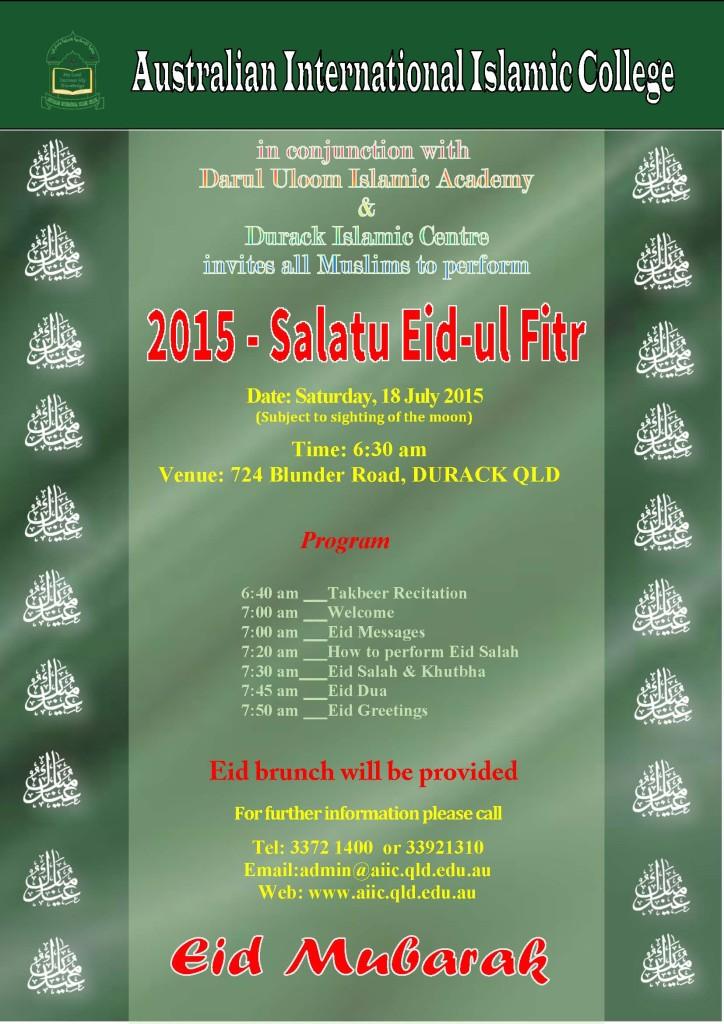 1Eid Ul Fitr flyer 2014